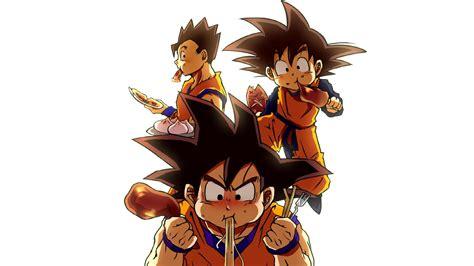 Dragon Ball Z Anime Son Goku Son Gohan Son Goten
