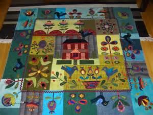 Wool Applique Quilt Patterns