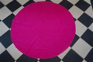 Serviette De Plage Ronde Coton : serviette de plage diy ronde past que tissu coton pais perles co ~ Teatrodelosmanantiales.com Idées de Décoration