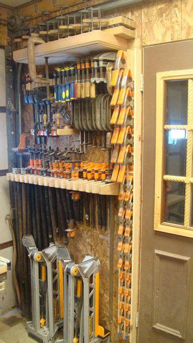 great clamp storage ideas wood shopgarage storage ideas