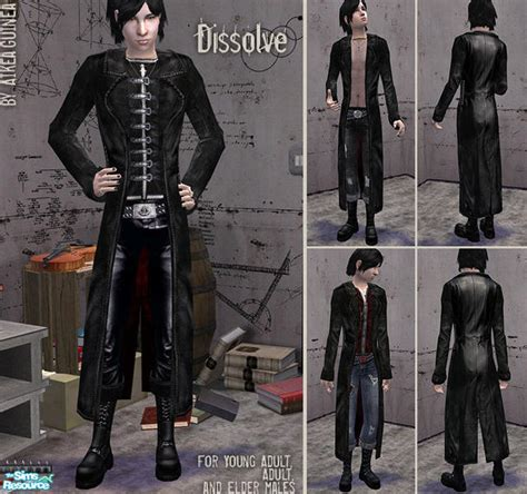 aikeaguineas dissolve leather trench coats  males