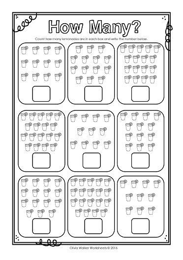 how many numbers 10 20 ten to twenty count and write worksheets kinder math preschool