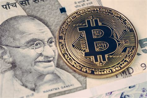 Today's value and price history. Bitcoin crypto currency banned in India concept, closed up ...