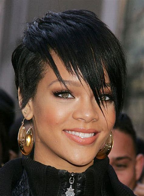 latest hairstyle   short haircuts thin  black