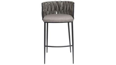 chaise grise tissu achetez votre chaise de bar grise simili cuir cheerio pas