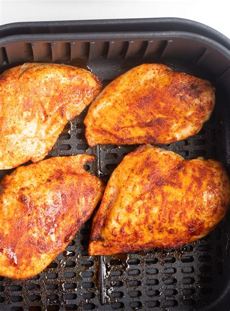 fryer chicken breast air bbq cooked perfect forking basket
