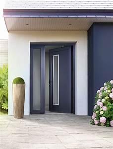 portes d39entree pvc elme swao With porte d entrée pvc avec fenetre pvc fixe