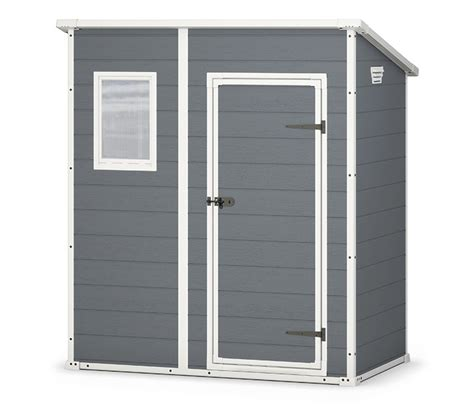 Keter Manor 4 X 6 Storage Shed by Keter Manor Outdoor Plastic Garden Storage Shed 6 X 5