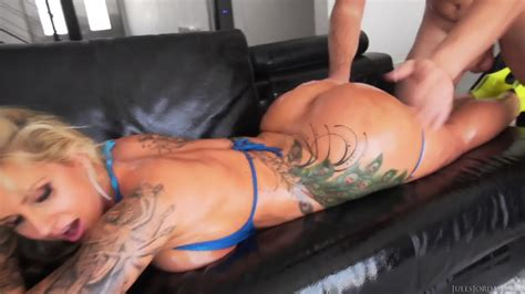 Inked And Oiled Ass Fucked Hard Eporner