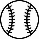 Baseball Softball Clipart Icon Ball Base Svg