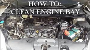 How To Clean Engine Bay Honda Crv