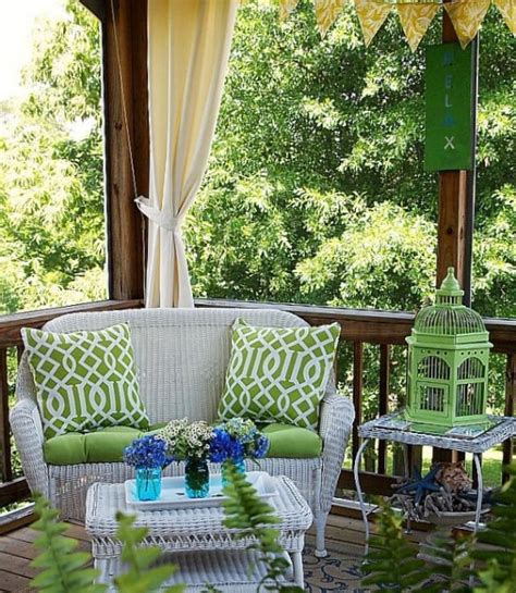small screened in porch decorating ideas 36 joyful summer porch d 233 cor ideas digsdigs