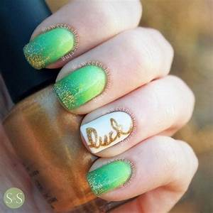 40 and amazing green nail designs that will