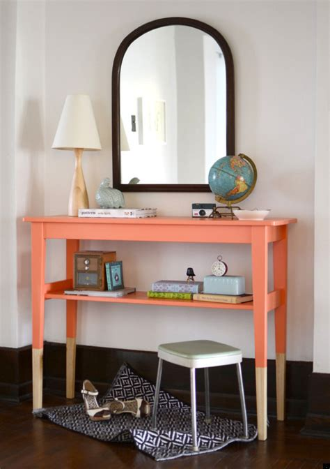 ikea entry way table diy entryway table idea mosey