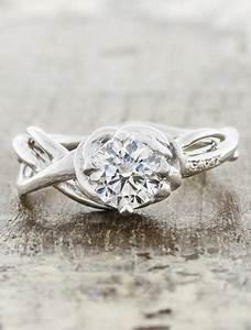 landress sculptural organic shaped diamond ring ken With nature wedding rings
