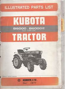 Help Me Please Kubota B6000 Tree  3  Point Linkage