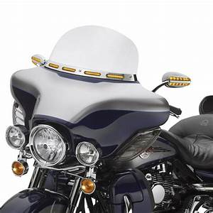New Illuminated Led Windshield Molding Kit From Harley-davidson