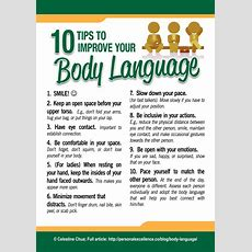 [manifesto] 10 Tips To Improve Your Body Language  Personal Excellence