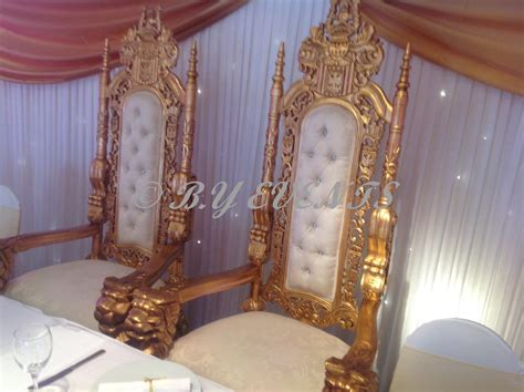 Beautiful Bride And Groom Chairs For Rental Victoria Park