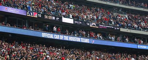 nrg stadium preps  big game  daktronics ribbon