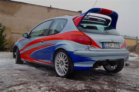 Peugeot 206 Rc by Racecarsdirect Peugeot 206 Rc