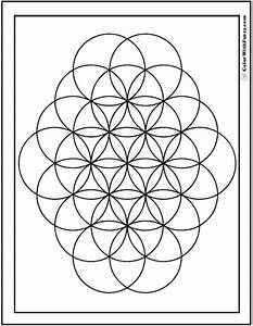 Geometric Coloring Pages Kids