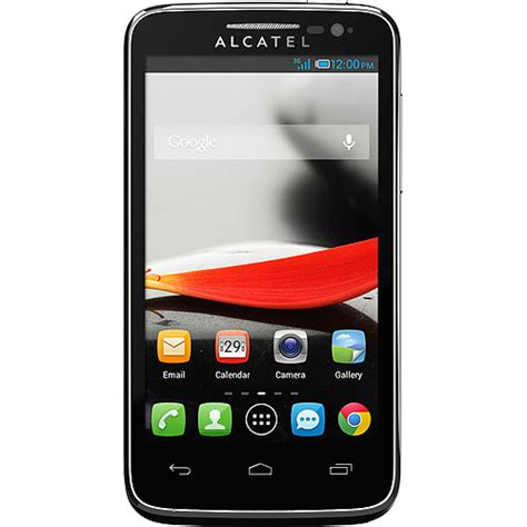 wfm alcatel one touch evolve prepaid cell phone walmart