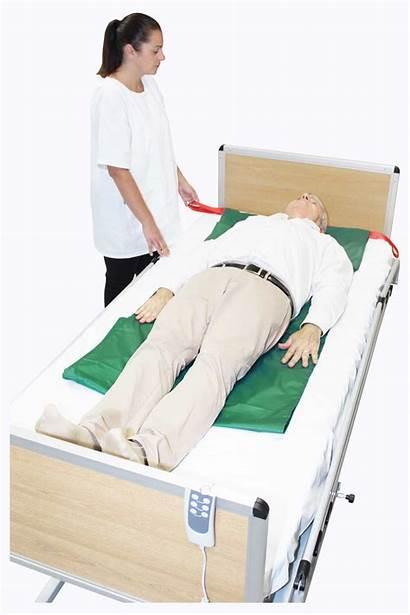 Slide Handles Sheet Sheets Medical Loading Patient