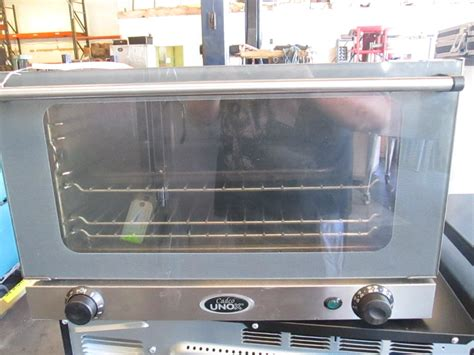 oven convection pans sheet table degrees half cadco unox cooking restaurant