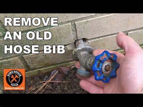 frost  sillcocks   remove   hose bib