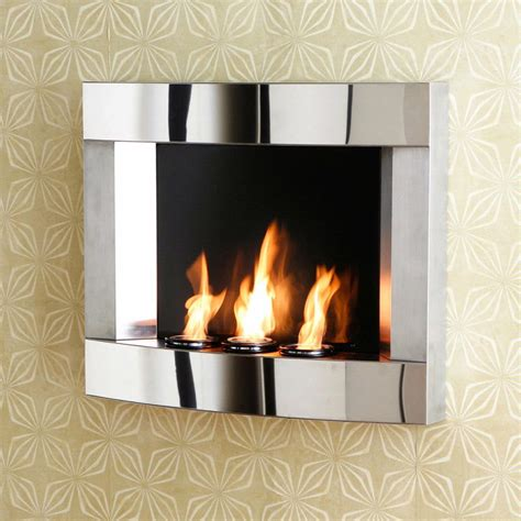 southern enterprises polished stainless steel wall mount