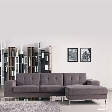 chaise casa divani casa forli modern fabric sectional sofa right
