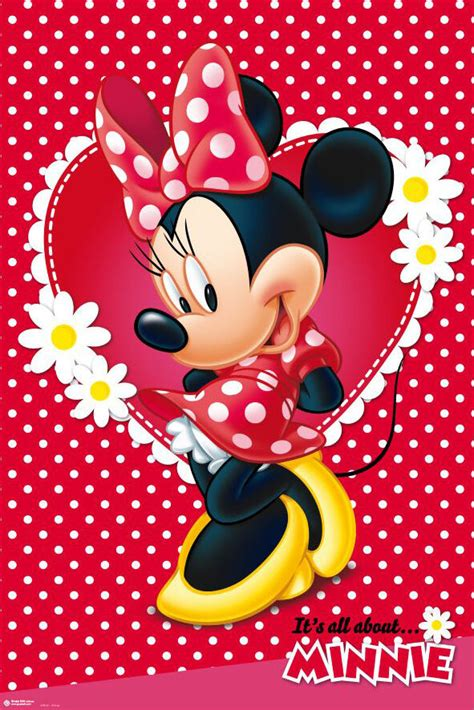 minnie mouse disney poster print mickey mouse size 24 quot 36 quot ebay