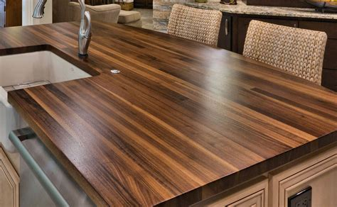 for wood countertops 18 kitchen countertop options and ideas for 2019