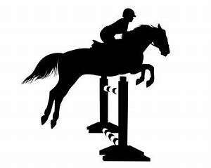 Show Jumping Silhouette at GetDrawings.com | Free for ...