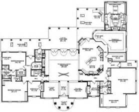 1 floor plans 653898 one 3 bedroom 4 bath mediterranean style house plan house plans floor plans
