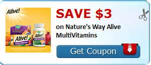 Nature's Way Alive! Vitamins Only $6.99 At Walgreens Starting 12/6 ...