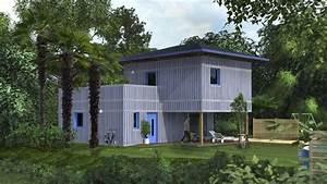Maison Modulaire Bois : des maisons modulaires en bois 100 made in france ~ Melissatoandfro.com Idées de Décoration