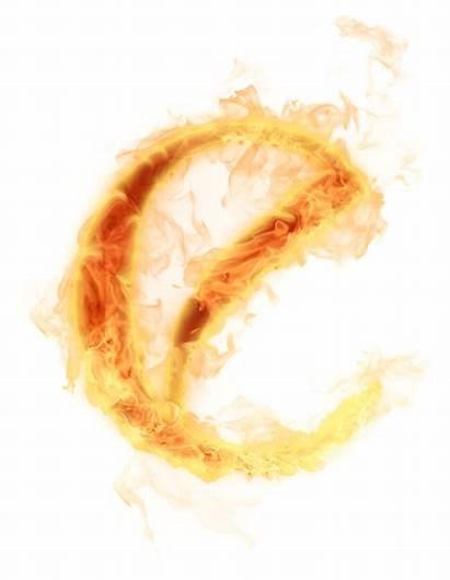Letter Burning Burn Transparent Psd Background Fire
