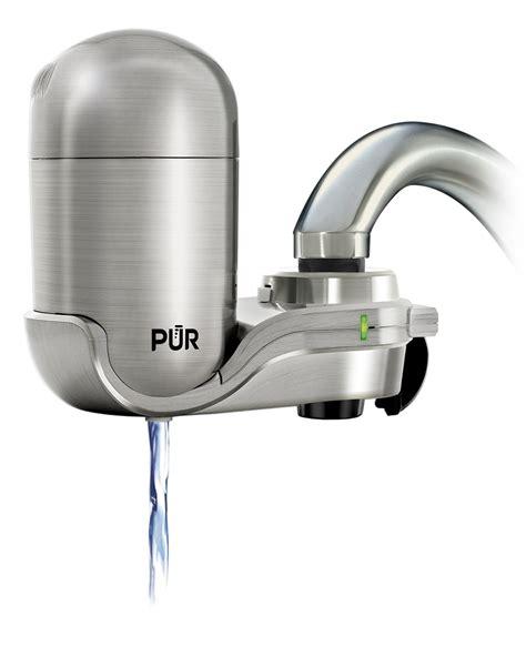faucet water filter led indicator kitchen sink bathroom