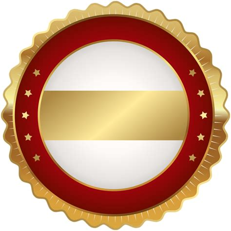 Badge Png by Seal Badge Gold Png Clip Image Gallery