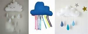 Deco Chambre Bebe Nuage : la d coration nuage pour la chambre de b b cr ez avec votre enfant nos diy ~ Teatrodelosmanantiales.com Idées de Décoration