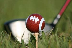 Image result for Football Ball ON A GOLF COURSE