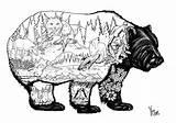 Coloring Doodles Animal Lion Sculpture sketch template