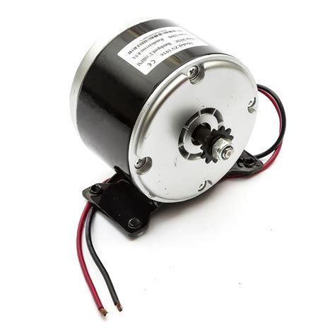 Watt Electric Motors by Electric Motor 36 Volt 250 Watt 11t 6mm Chain Sprocket