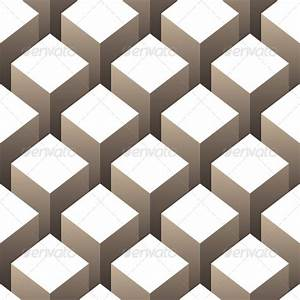 3D Boxes Seamless Pattern by alisher9 | GraphicRiver