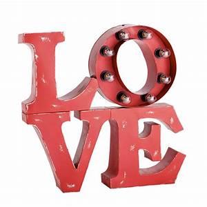 Applique Murale Maison Du Monde : applique lumineuse love rouge central park maisons du monde ~ Teatrodelosmanantiales.com Idées de Décoration