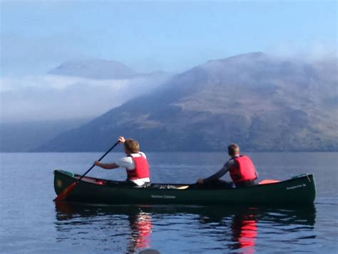 Canoes Scotland by Canoeing Fort Augustus Canoeing Loch Ness River Oich Trips