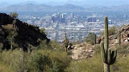 Phoenix Arizona Desert Desktop Wallpapers Cactus Earth
