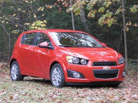 2012 Chevrolet Sonic Lt 18liter Hatchback Drive Report